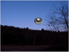 Recreation of the sighting